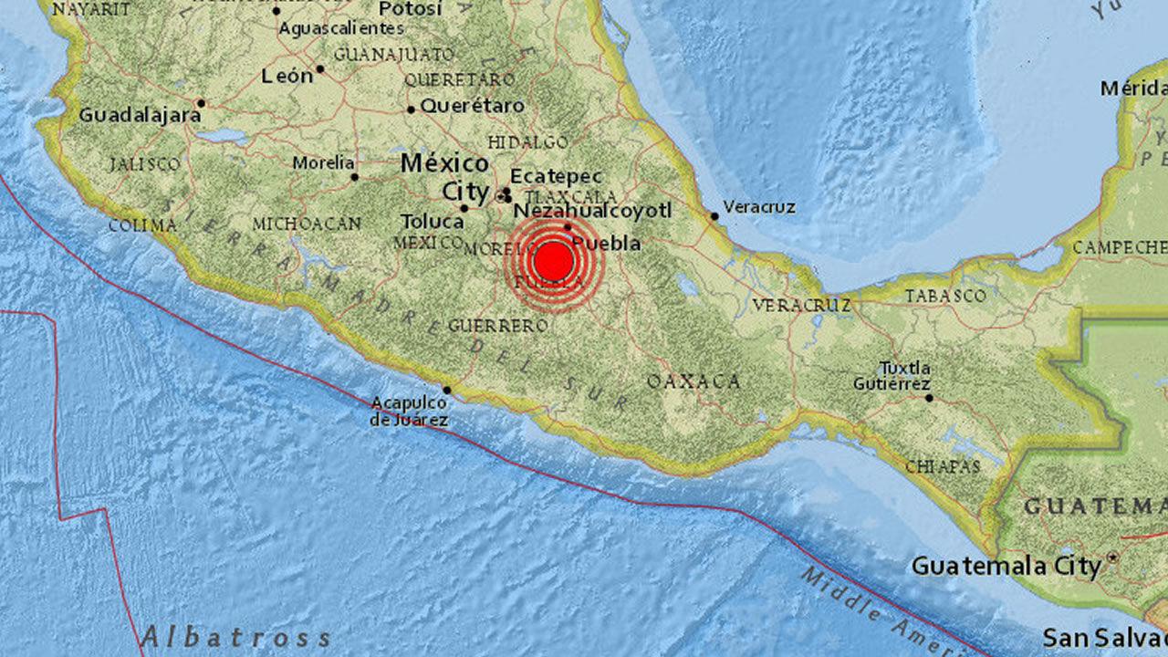 Dos terremotos casi simultáneos de 6.8 y 7.1 sacuden México