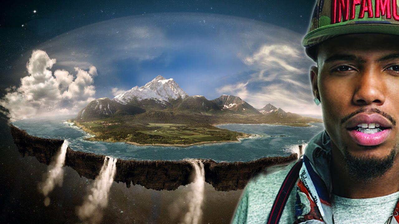 Rapero B.o.B lanza campaña para probar que la Tierra es plana