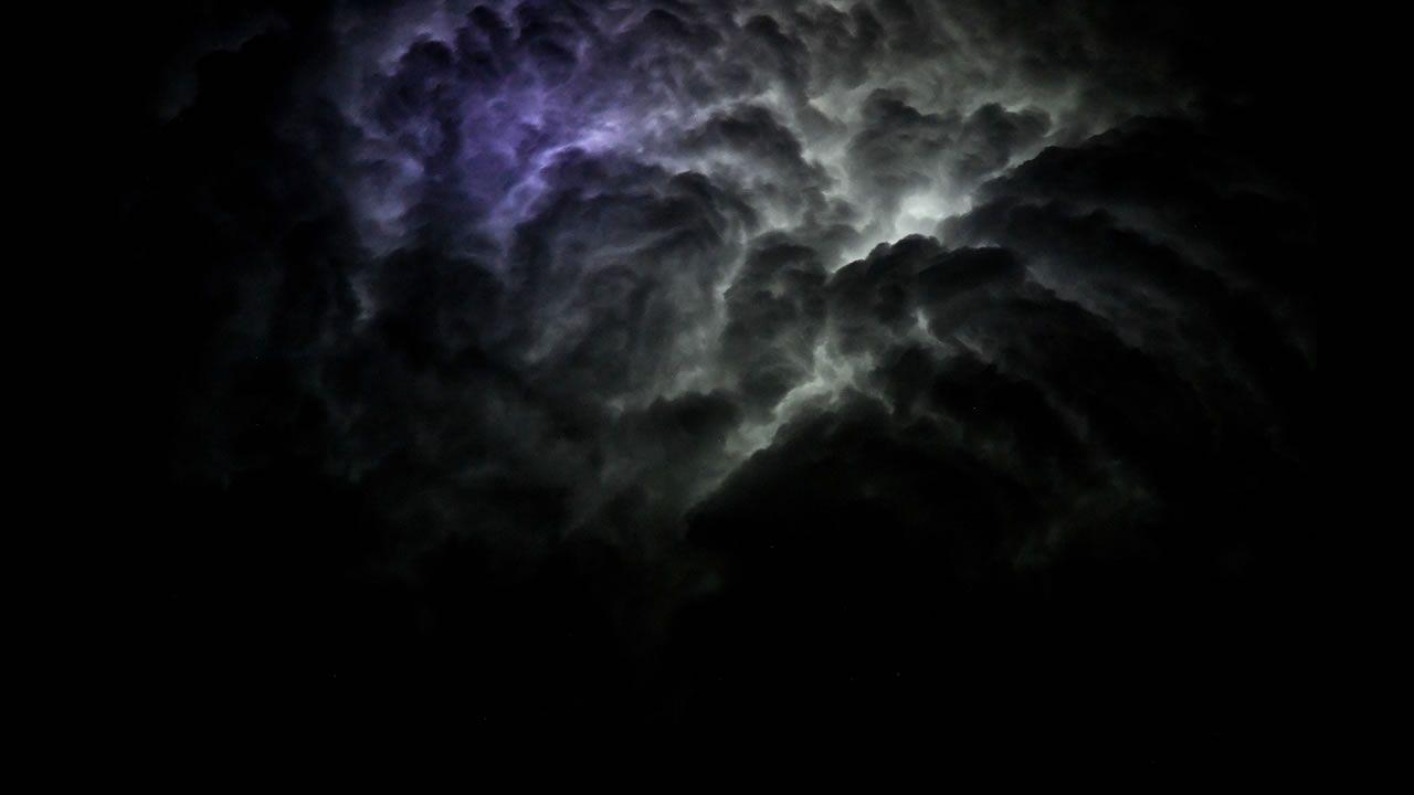 Captan desde el espacio una tormenta como nunca antes se vio