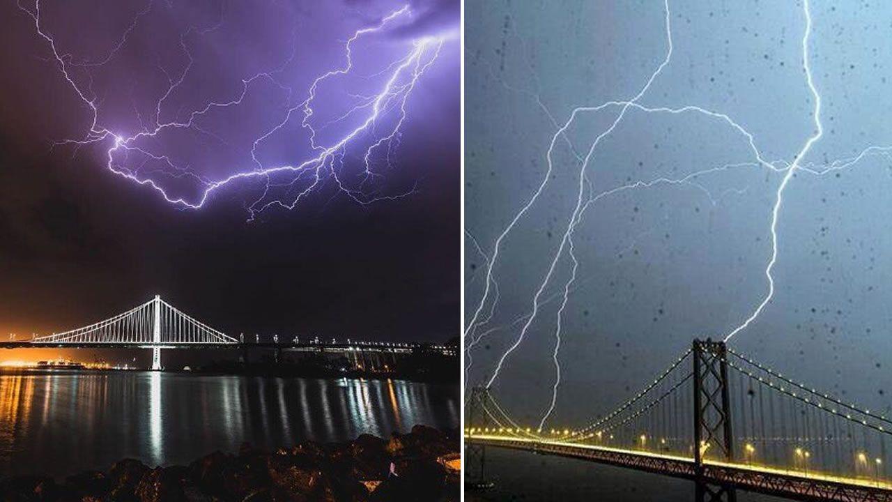 «Tormenta apocalíptica»: 800 rayos golpean San Francisco en solo unas horas