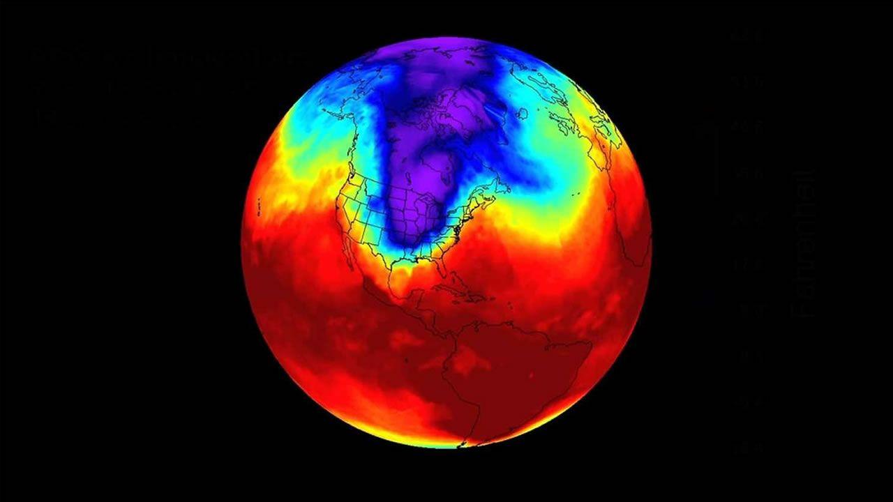 Científicos encuentran que el vórtice polar está cambiando
