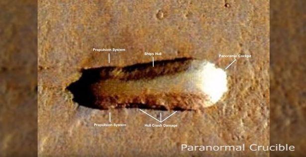 Imagen de supuesta «nave nodriza extraterrestre»