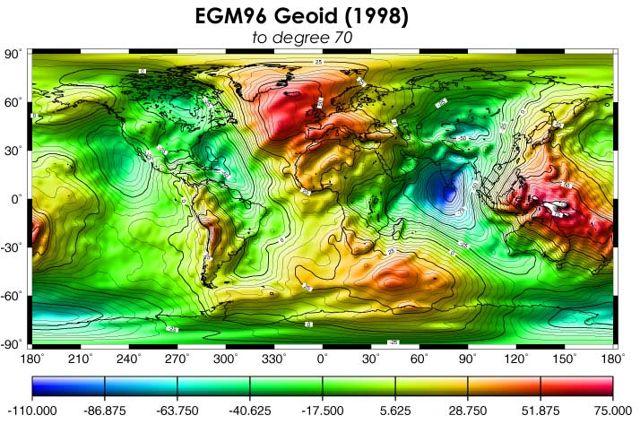 La masa perdida, ¿qué está causando un bajo geoide en el Océano Índico? Los bajos de los geoides son generados por la distribución masiva desigual dentro de la Tierra profunda