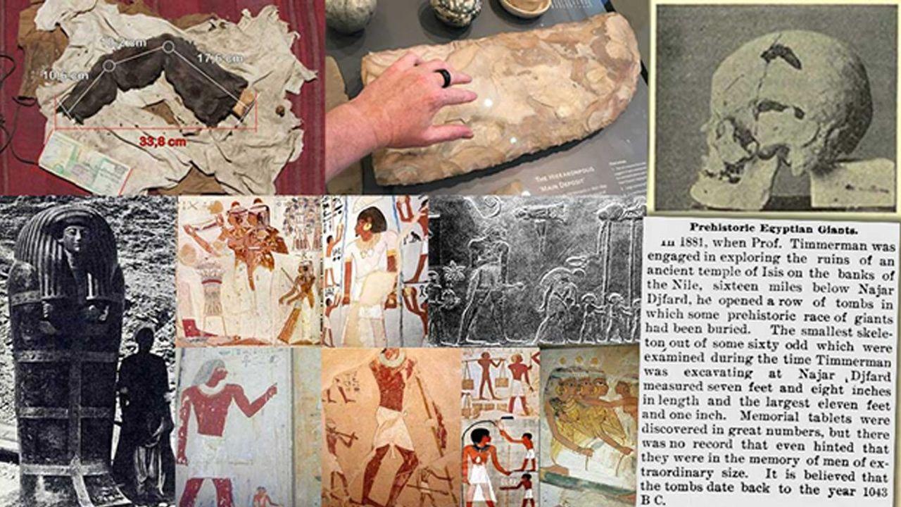 Gigantes del Antiguo Egipto: El legado perdido de los faraones