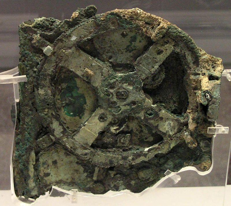 El Mecanismo Antikythera.