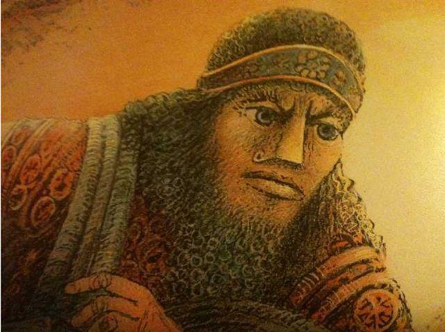 Representación artística del rey Gilgamesh