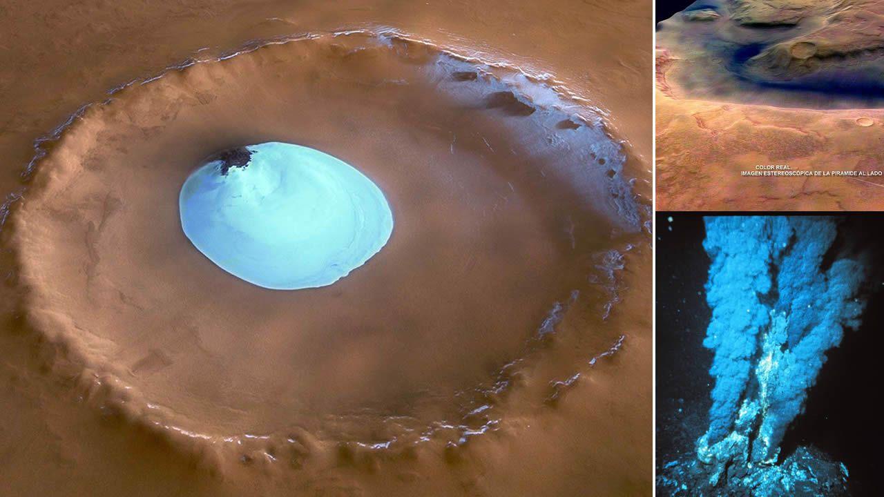 Respiraderos hidrotermales en Marte: Cuna para la vida extraterrestre