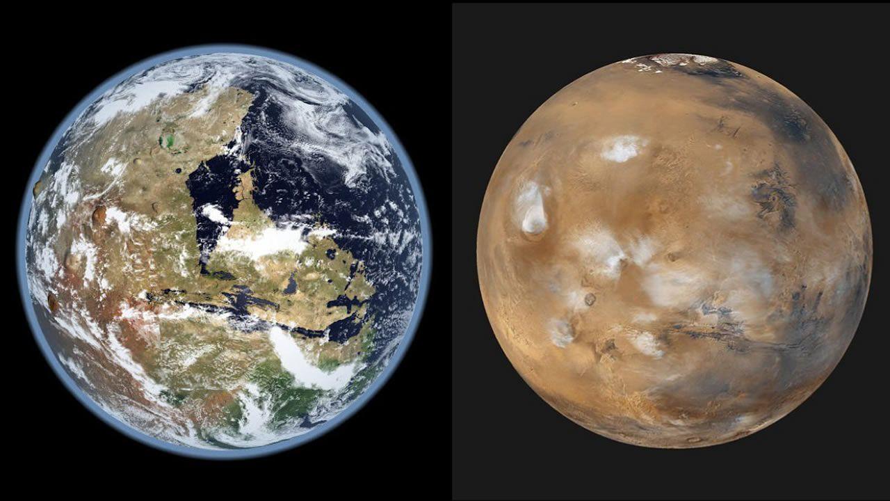 Marte tuvo tanta agua como hielo en su superficie, afirman científicos