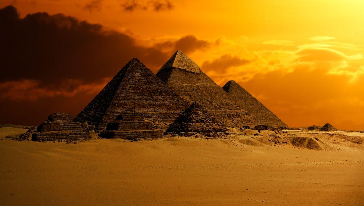 Una gran erupción volcánica podría haber influido en el colapso del Antiguo Egipto