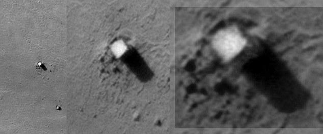 El Monolito de Phobos, a simple vista nada natural