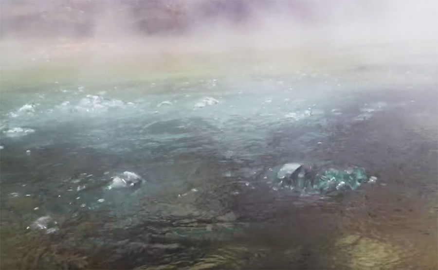 Captura de pantalla del documental de Andrés Ruzo.