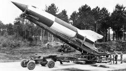 Un cohete inventado por los nazis fue la primera máquina que llegó al espacio