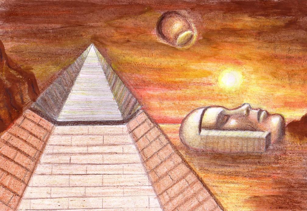 Representación artística de Cydonia en Marte