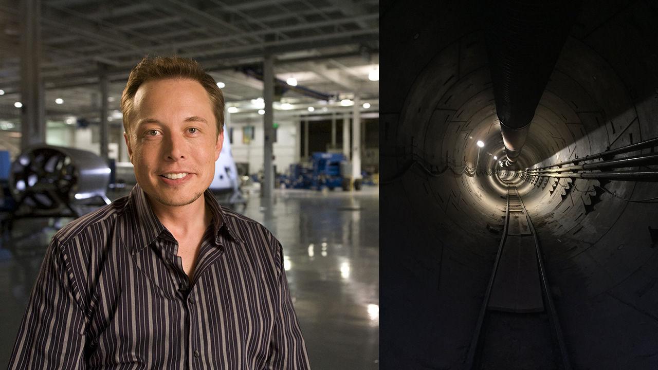 Elon Musk revela fotografía del primer túnel de su proyecto de transporte ultrarrápido