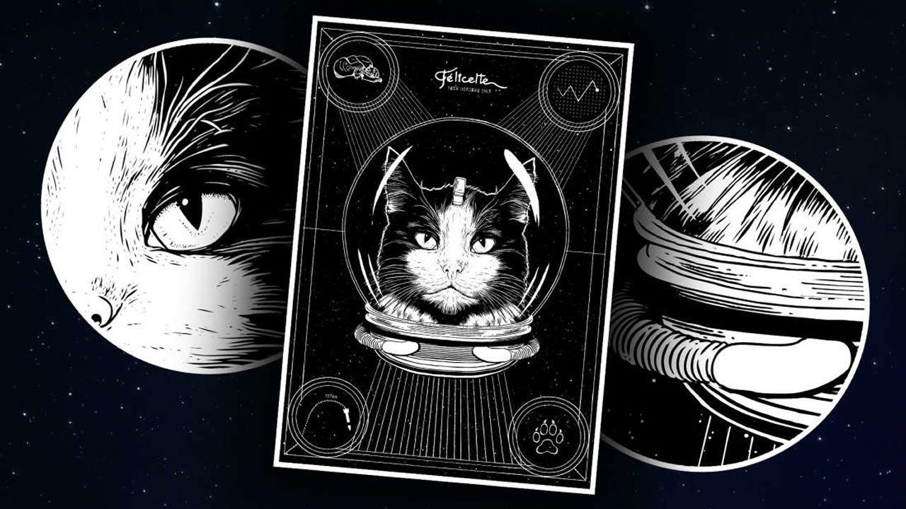 El primer gato astronauta del mundo podría obtener el reconocimiento que merece