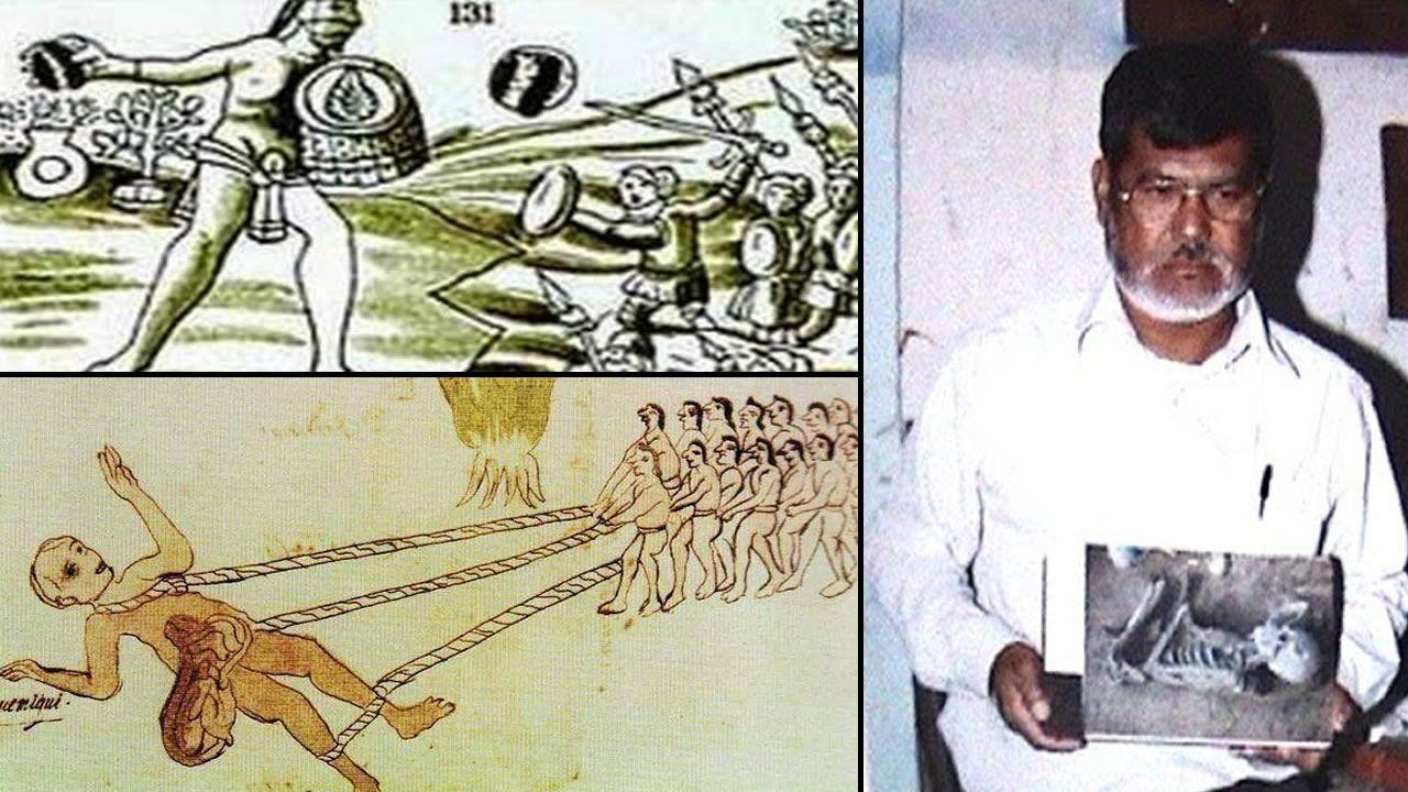 Los Gigantes de Romita, descubiertos en 1995 en México
