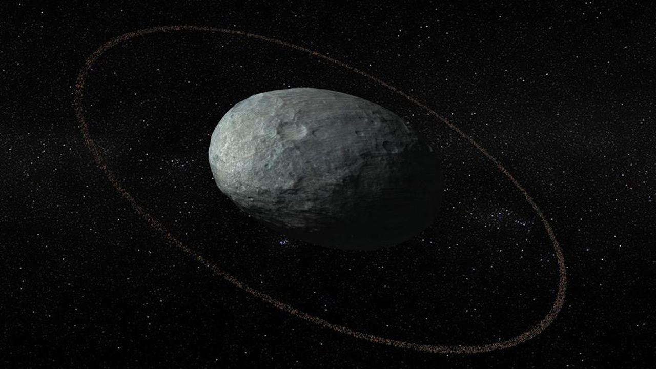 Haumea: El primer planeta enano con un anillo de hielo