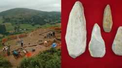 Hallan herramientas de piedra en un yacimiento de la Edad del Bronce