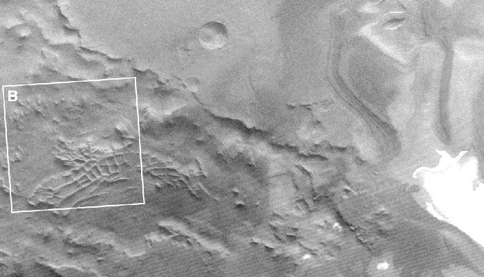 La llamada «Ciudad Inca» en Marte