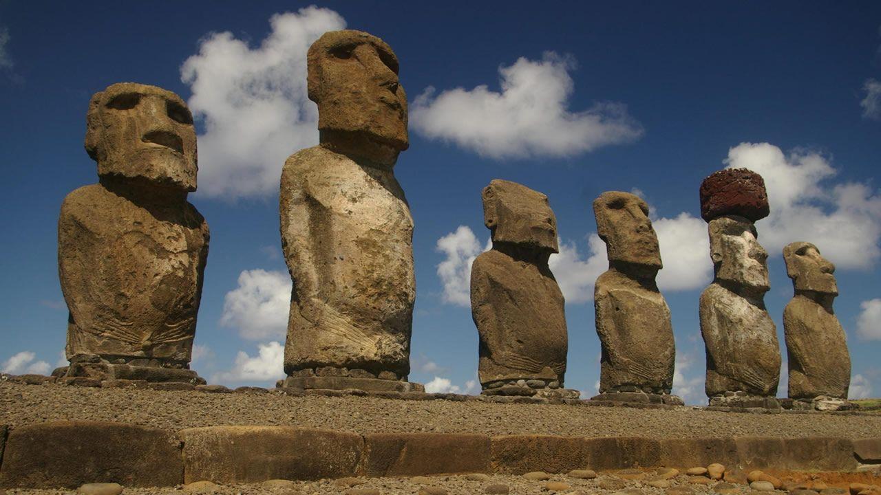 Misterio de la construcción de los Moais en Isla de Pascua podría haber sido resuelto