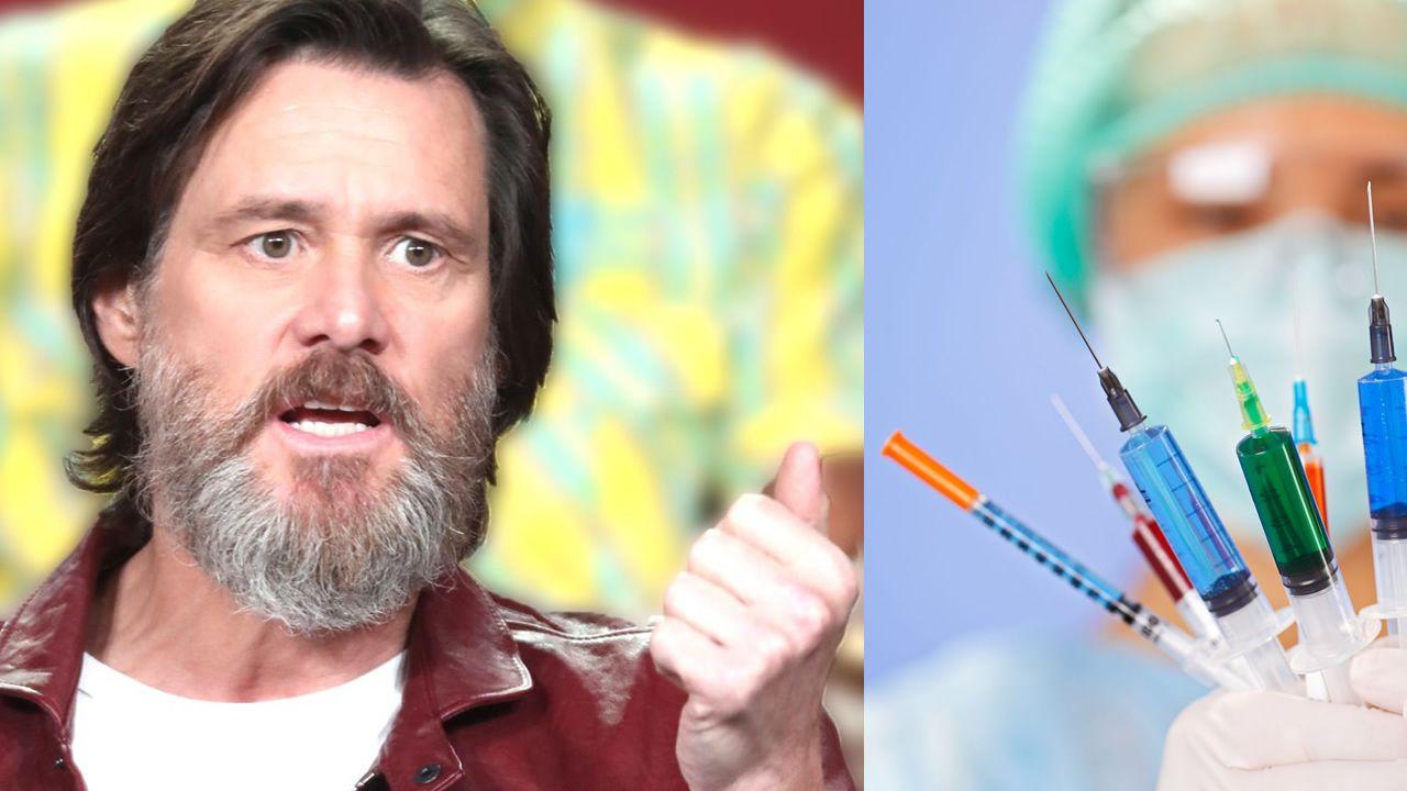 Jim Carrey critica al gobierno de EE.UU. por permitir que Big Pharma influya en la política