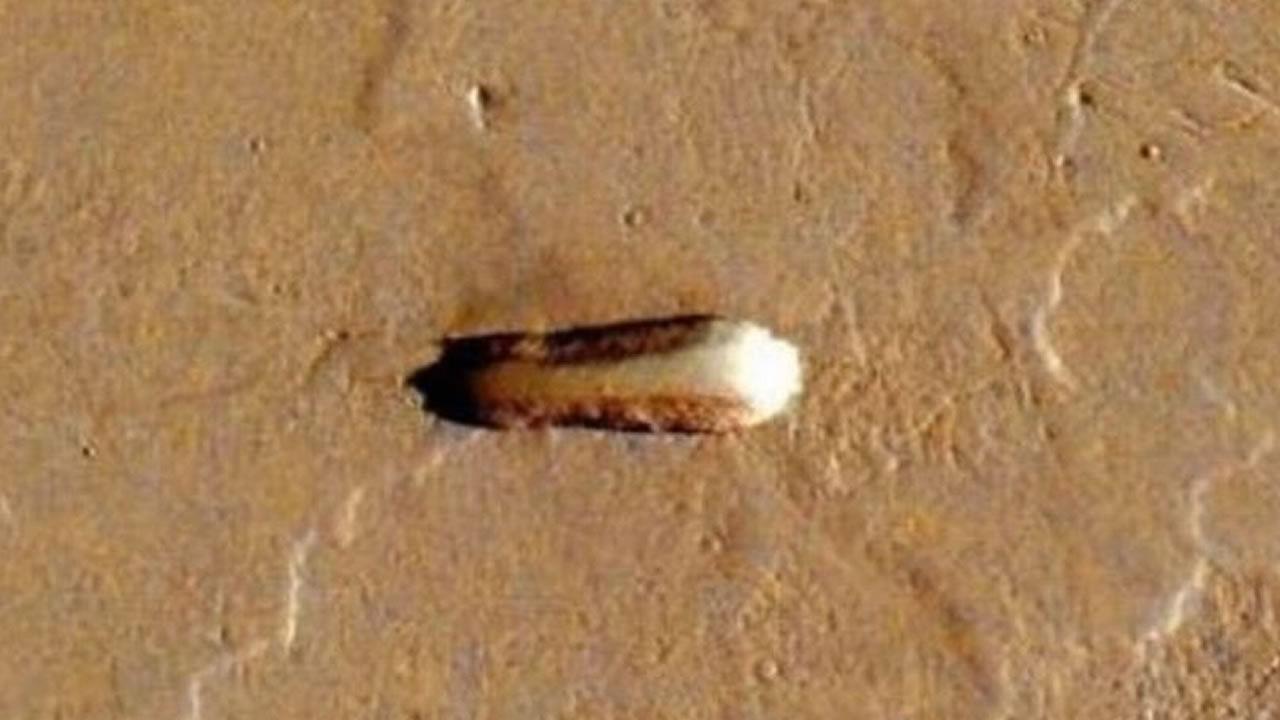 Cazador de Ovnis afirman encontrar «nave nodriza alienígena» en Marte