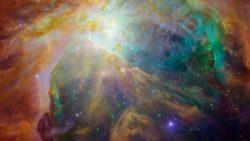 Capturan impresionante «puesta de sol» en la constelación de Orión