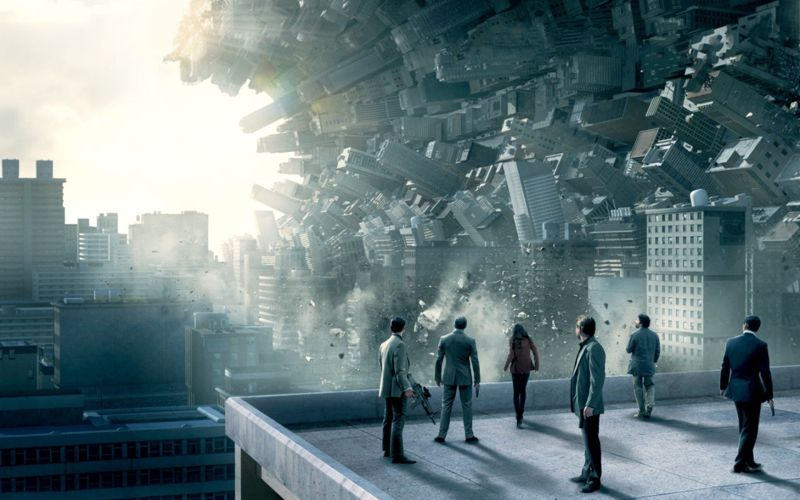 Escena de película «El Origen», donde se plantea la posibilidad de acceder al inconsciente a través de los sueños para implantar ideas