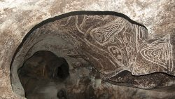Hallan miles de pinturas rupestres en una isla del Caribe