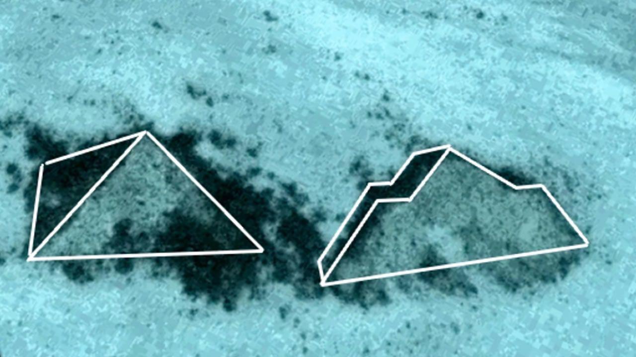 ¿Existen dos Pirámides sumergidas cerca de la costa de las Bahamas? (Vídeo)