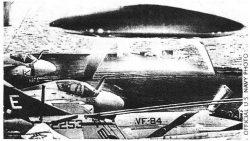¿Un OVNI posado sobre un portaviones de EE.UU? Ex-Ingeniero aeroespacial clama que es real