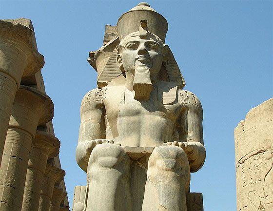 Ramsés II en Luxor