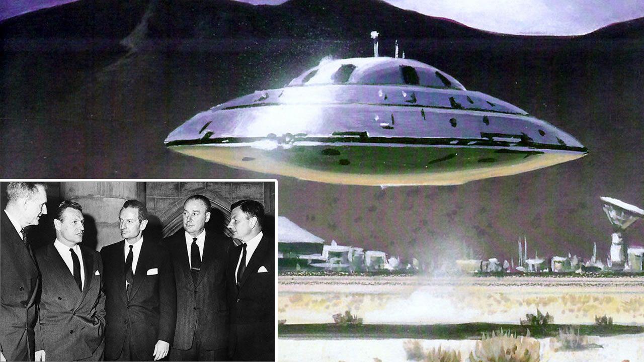 La Conspiración Rockefeller para controlar el fenómeno extraterrestre