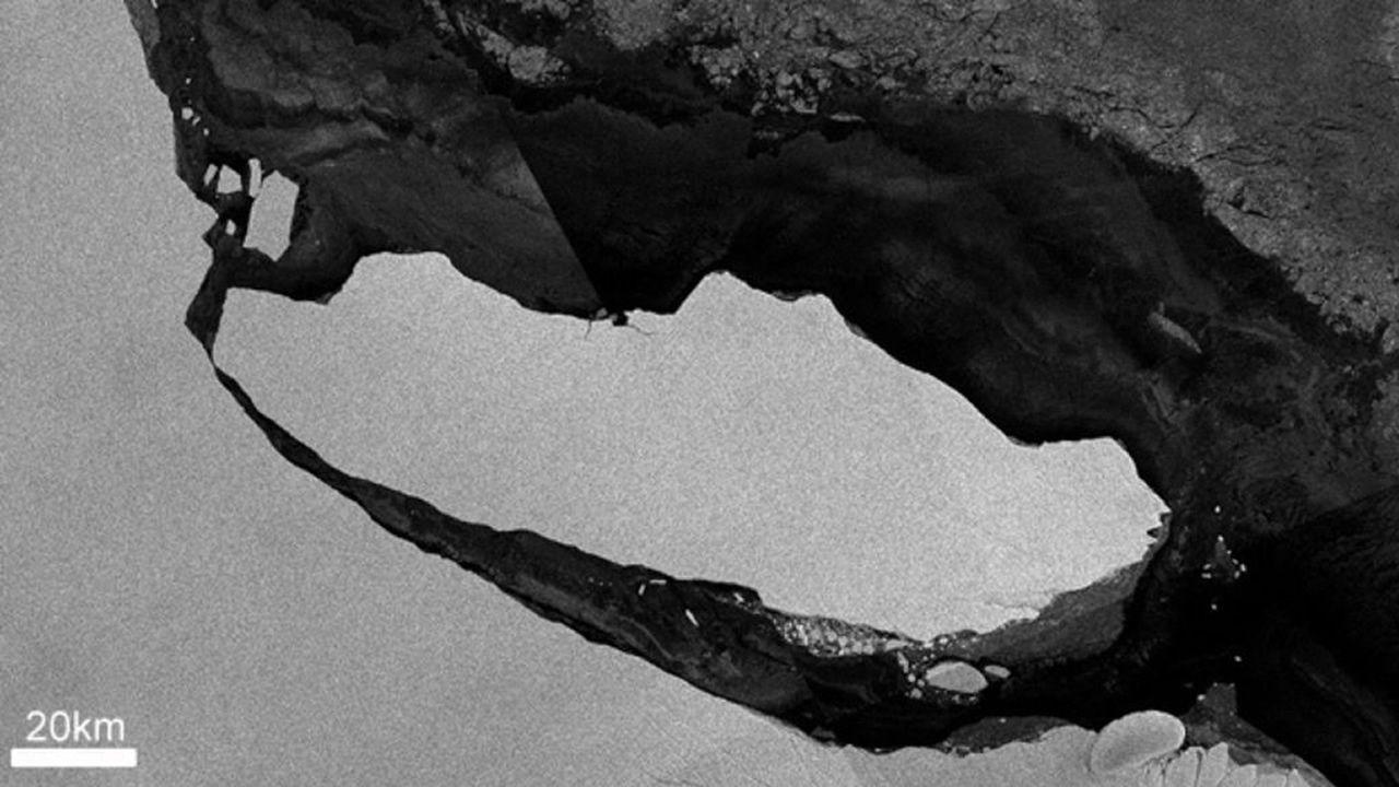 Ruptura de un iceberg de la Antártida devela un ecosistema oculto hace 100.000 años