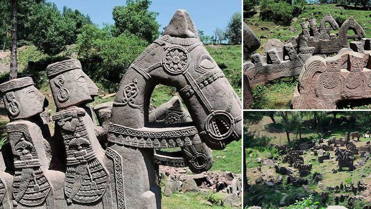Hallan dos impresionantes santuarios de una civilización desconocida en la India