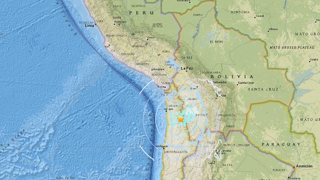 Terremoto de 6.3 grados sacude Chile cerca a frontera con Perú