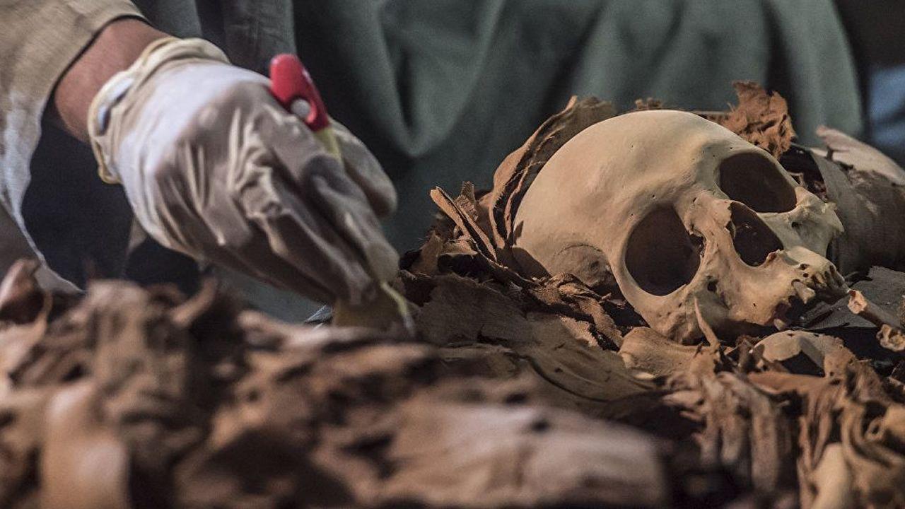 Hallan en Luxor una tumba desconocida del Antiguo Egipto