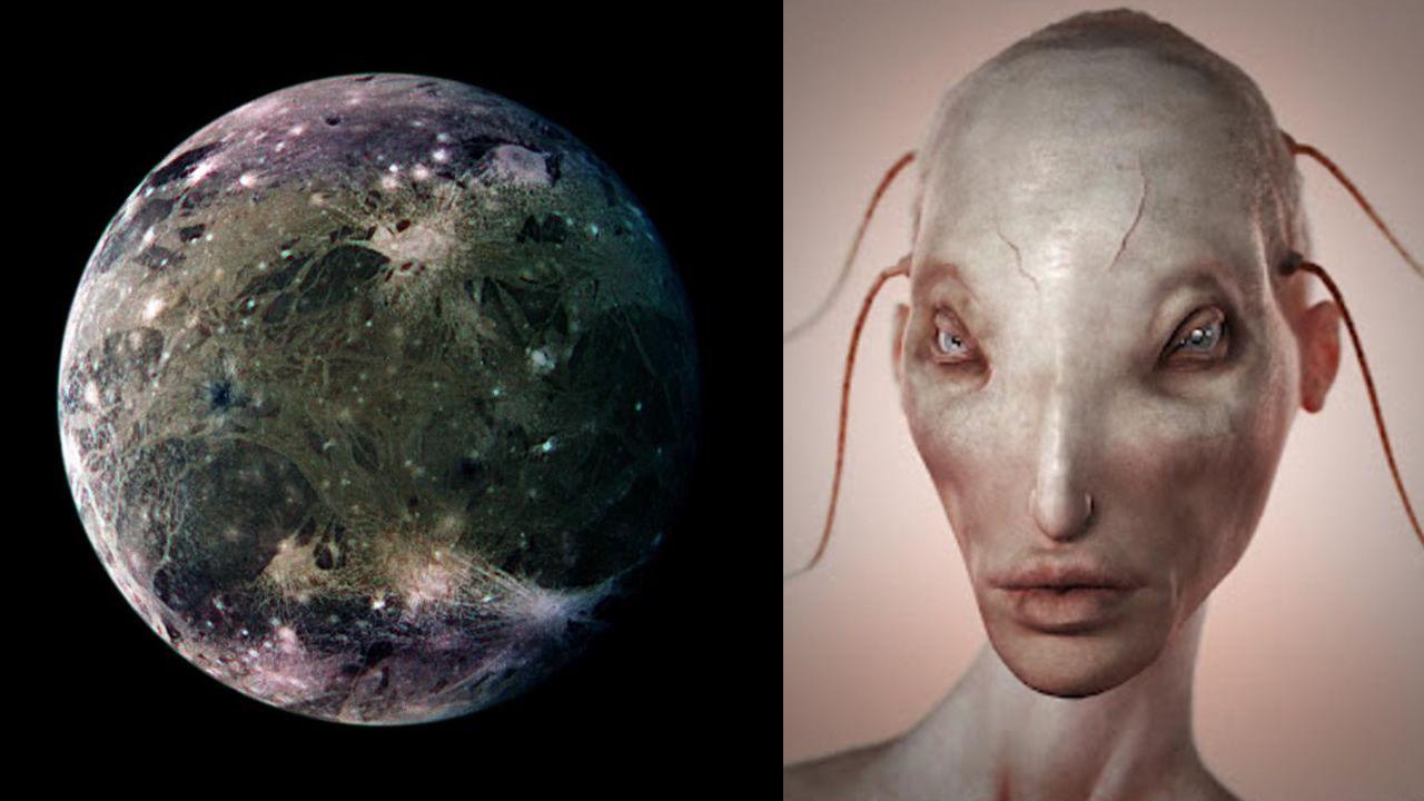 Podría haber vida en el gran océano de Ganímedes, la luna de Júpiter