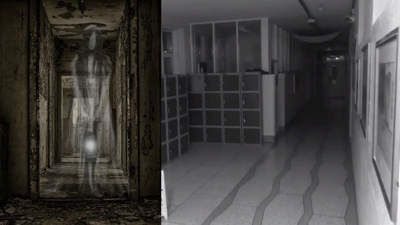 Vídeo: «Fantasma» aterroriza una escuela irlandesa