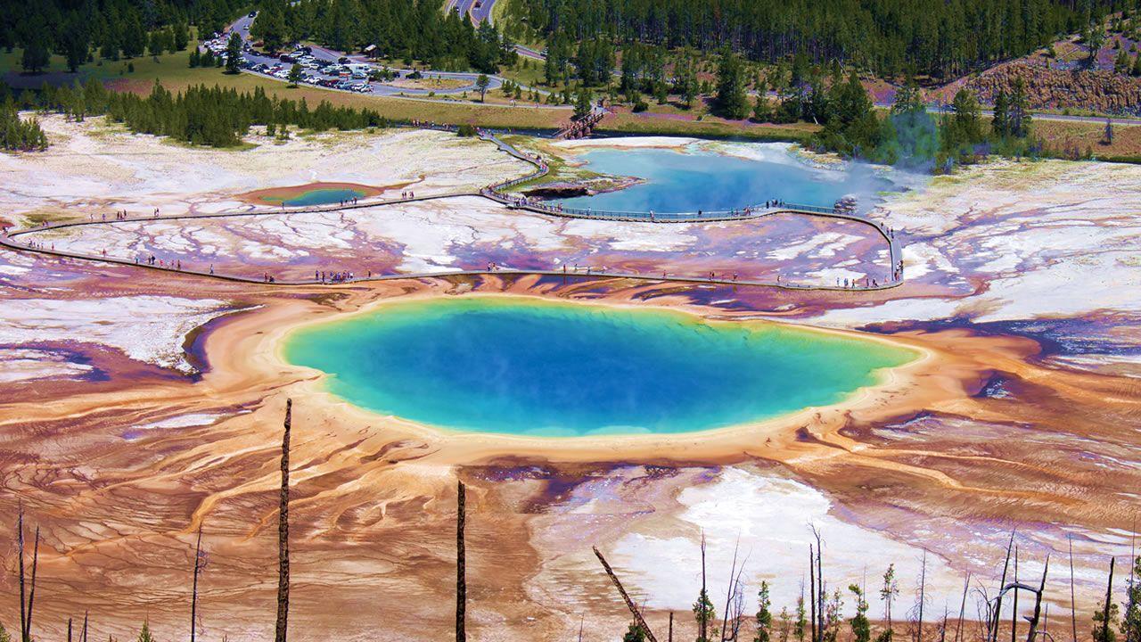 Así fue la dramática última explosión del Yellowstone