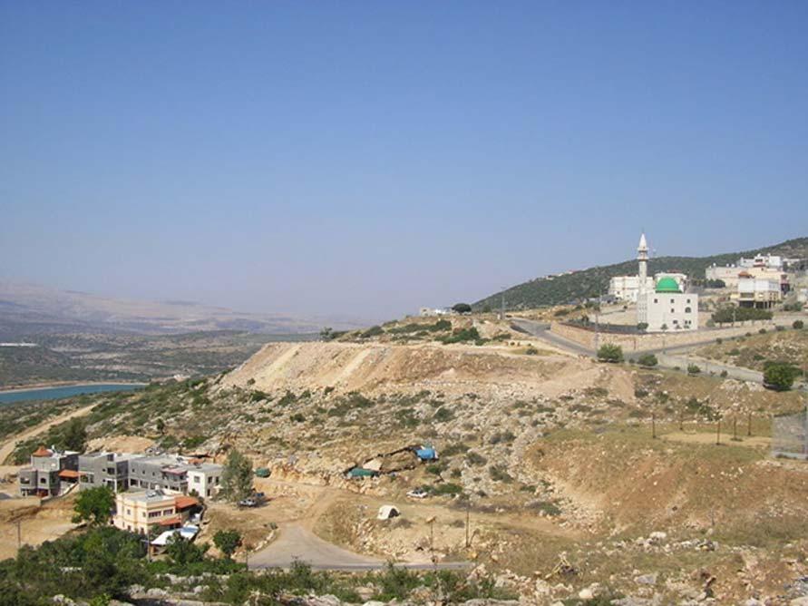El pueblo de Eilabun (Israel), donde fueron descubiertos los antiguos establos subterráneos