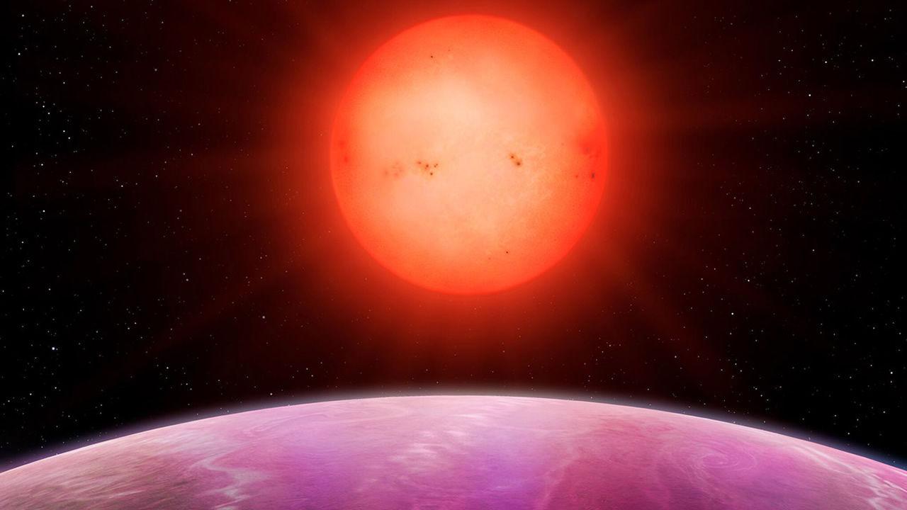Hallan un planeta gigantesco que «no debería de existir»
