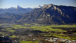 Algo muy raro se oculta bajo la montaña Untersberg
