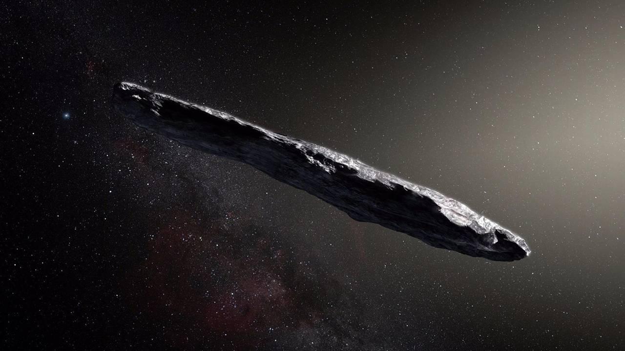 Oumuamua es el primer exocometa que entra al Sistema Solar