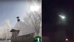 Enorme «bola de fuego» atraviesa cielo de Rusa y Finlandia (Vídeos)