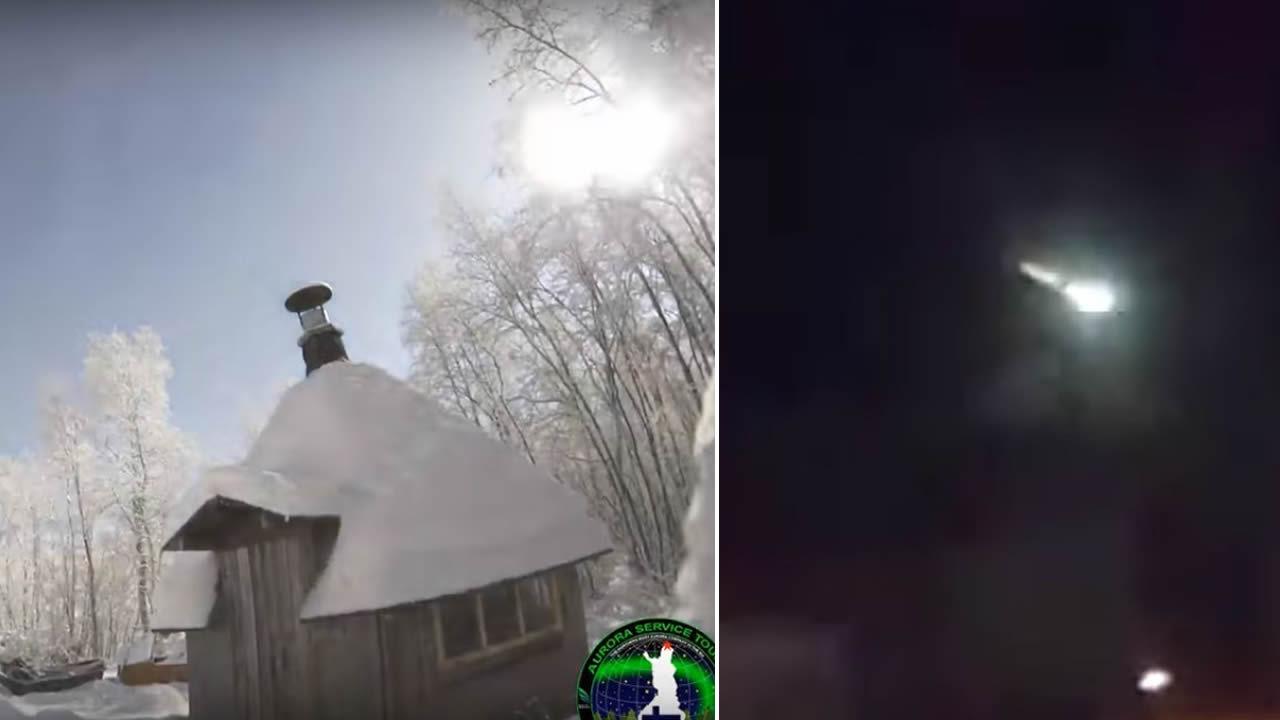 Enorme «bola de  fuego» atraviesa cielo de Rusia y Finlandia (Vídeos)