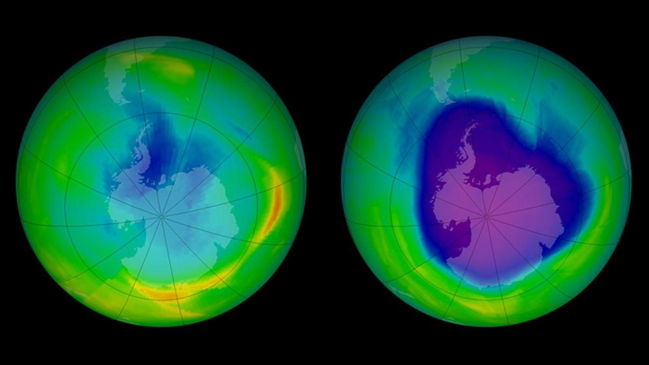 Agujero en capa de ozono alcanza su menor tamaño en casi 30 años