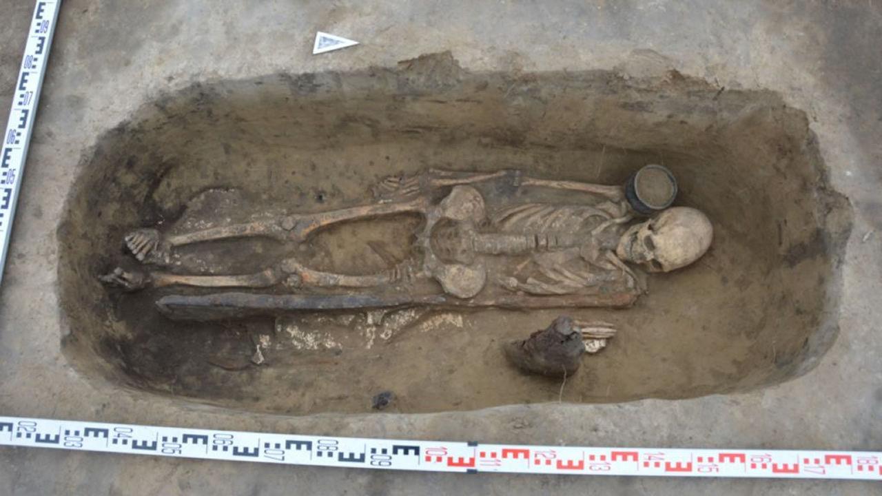 Hallan la necrópolis más antigua de la región de Altái y los restos de una «princesa»