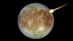 Científicos pretenden impactar una sonda contra la Luna Europa