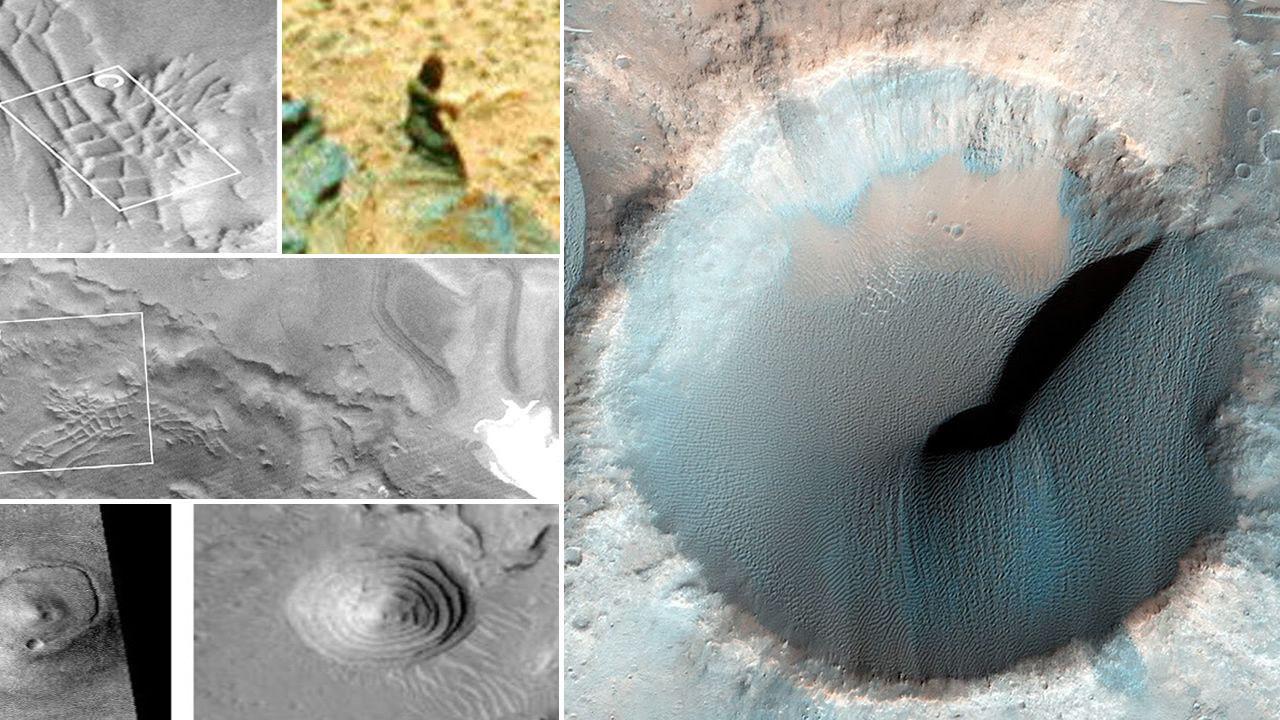 Estructuras artificiales en Marte: Evidencias de civilizaciones en el pasado